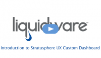 Introduction to Stratusphere UX Custom Dashboard